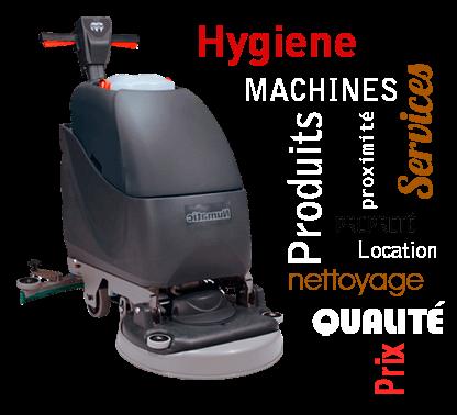 Produits, machines, matériels de nettoyage, propreté, entretien et hygiène Bordeaux Gironde et France