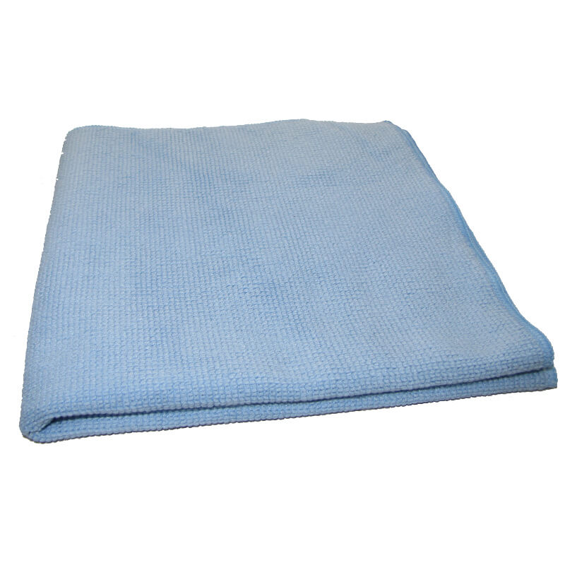 CHIFFONS MICROFIBRE TRICOT LUXE 40x40 BLEU - Absorption, essuyage, liustrages