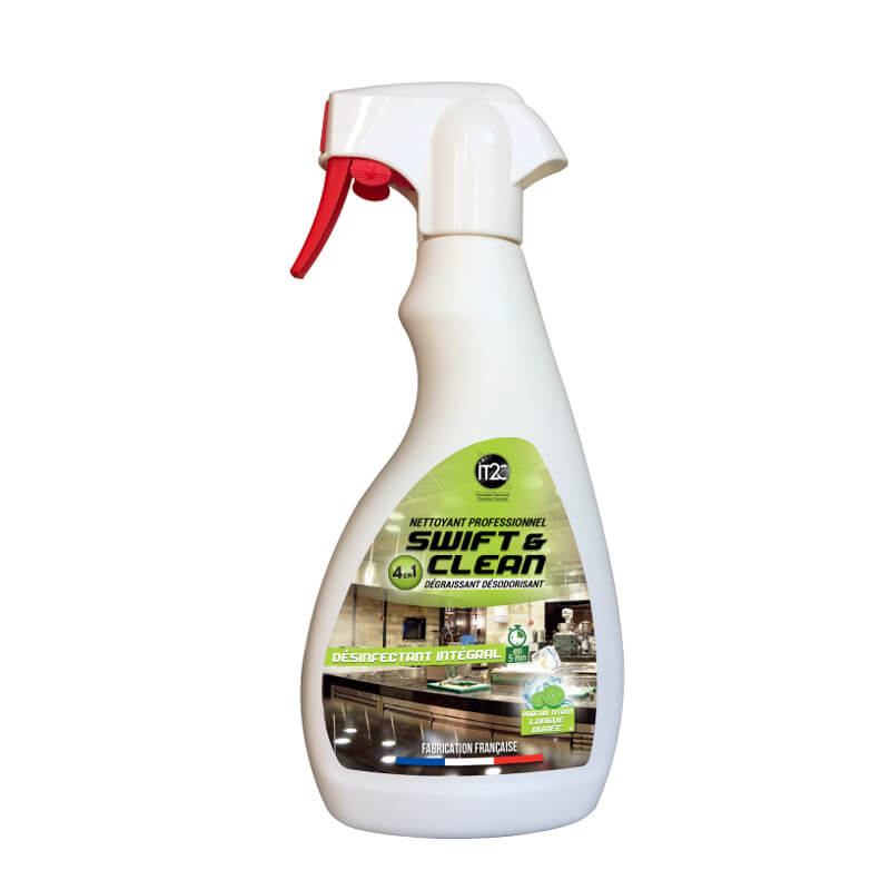 NETTOYANT DESINFECTANT LAVANDE INTEGRAL SWIFT & CLEAN 4 EN 1 PAE 500ML