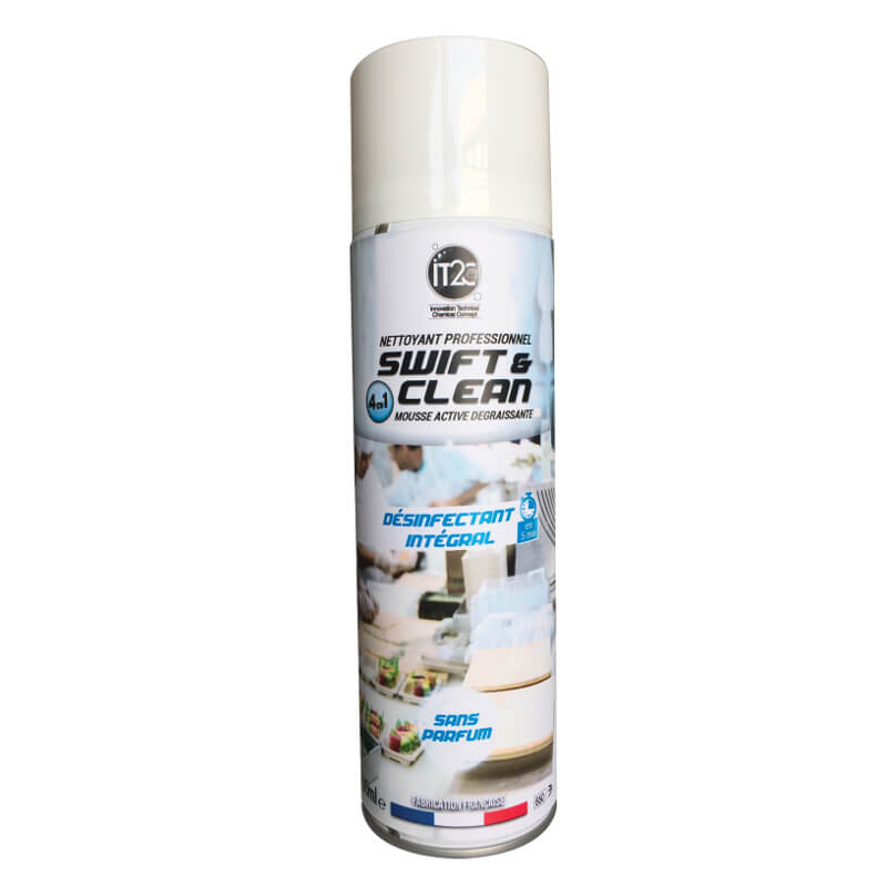MOUSSE DESINFECTANTE SWIFT_CLEAN 4D 500ML