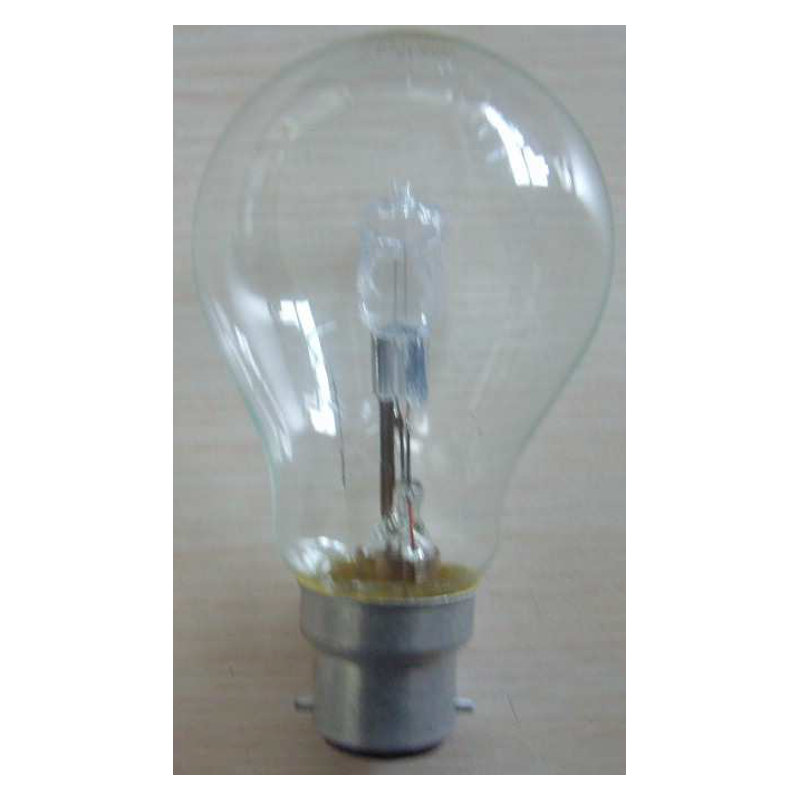AMPOULE ECO HALO STD CL B22 46 W 230V (163095)