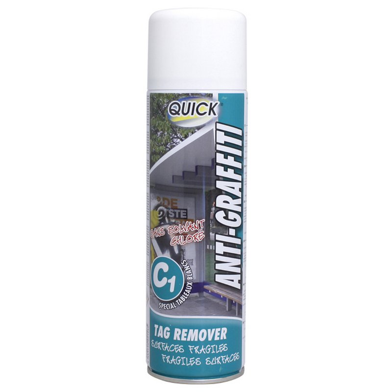 AEROSOL ANTIGRAFFITI C1 SURFACES FRAGILES - 500 ml