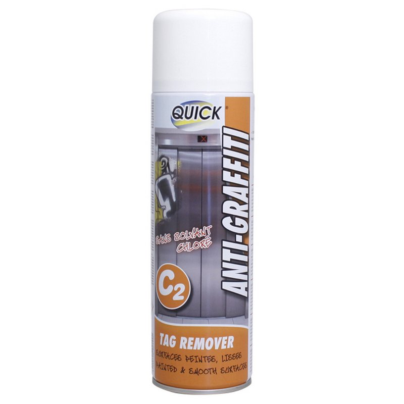 AEROSOL ANTIGRAFFITI C2 SURFACES PEINTES ET LISSES - 500 ml