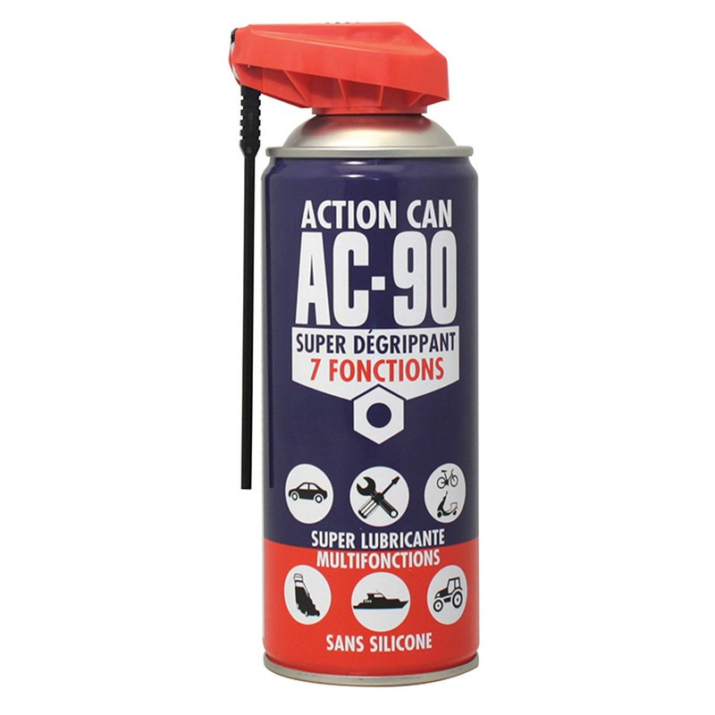 AEROSOL DEGRIPPANT RM 90 - 400ml - Super dégrippant 7 fonctions