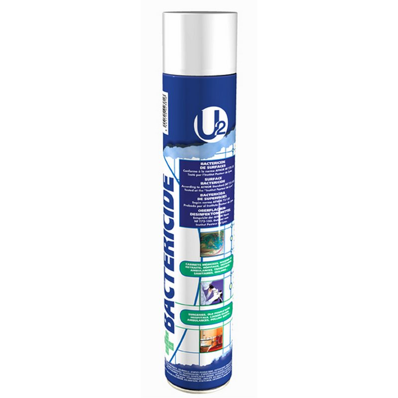 AEROSOL DESINFECTANT ASSAINISSEUR D'AIR - 750 ml - Batéricide - U2 A02381