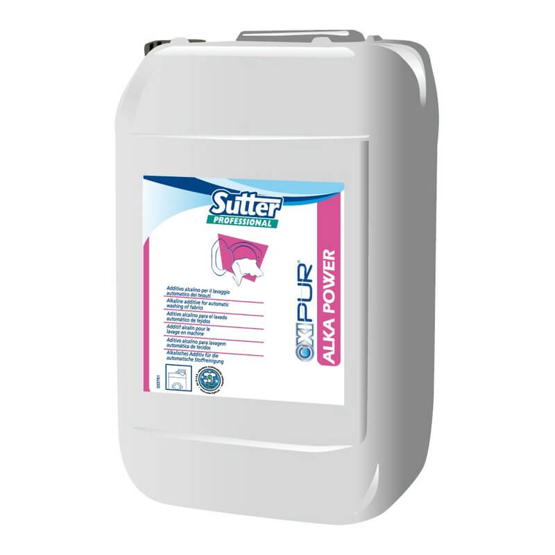 ALKA POWER - Bidon 20 L - Additif pour lavage en machine