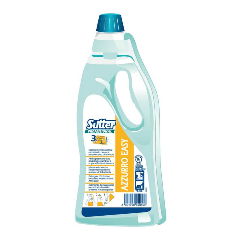 AZZURO EASY-  FLOWER EASY Bidon 750ml - Détergent neutre, effet brillant