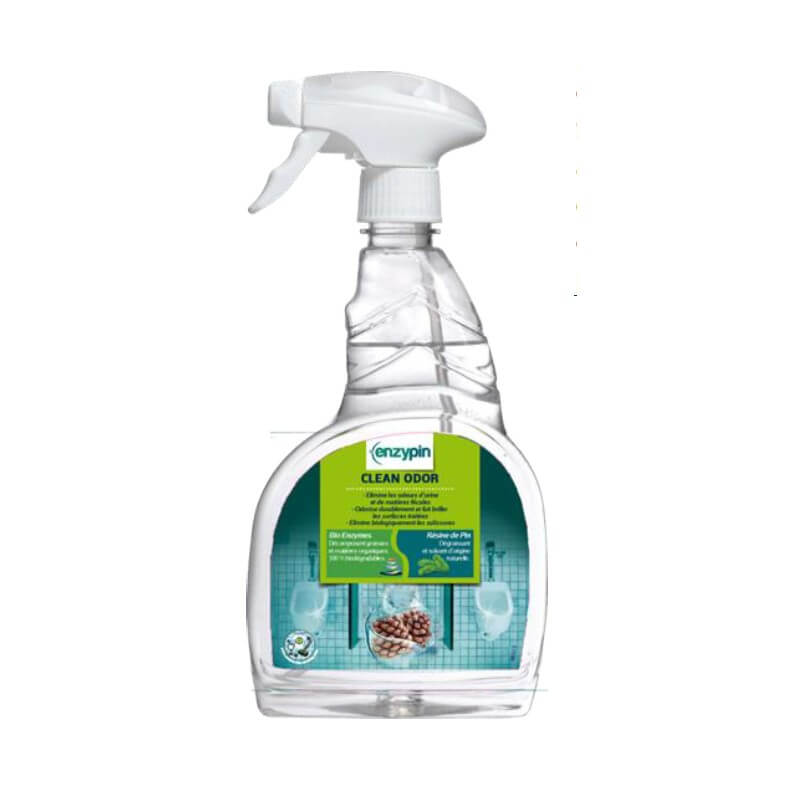 CLEAN ODOR - Pulvé.750ml - Odorisant enzymatique toilettes urinoirs - ENZYPIN