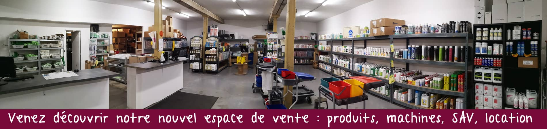 Banniere magasin